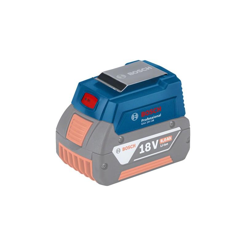 Bosch GAA 18V-24  USB-Akkuadapter