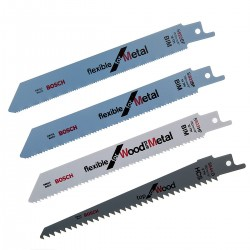 Bosch Säbelsägeblatt-Set WOOD AND METAL Basic 15-teilig