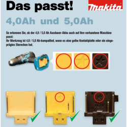 Makita BL1850 (18V/5Ah) - 2 Stück