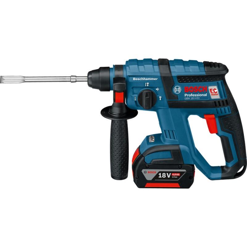 Bosch GBH 18 V-EC Akku-Bohrhammer (2 x 5Ah)