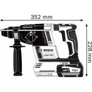 Bosch GBH 18V-26 Akku-Bohrhammer (2 x 5Ah)