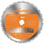 Evolution B255 TCT Multifunktions-Sägeblatt  255mm
