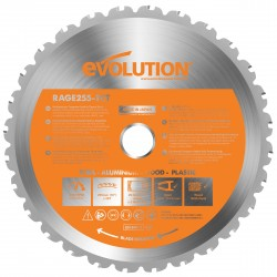 Evolution B255 TCT Multifunktions-Sägeblatt  255mm