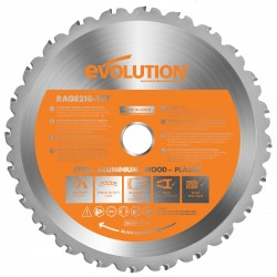 Evolution B210 TCT Multifunktions-Sägeblatt  210mm