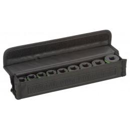 """Bosch 9tlg. Steckschlüsseleinsätze-Set mit 1/2""""-Innenvierkantaufnahme für Sechskantschrauben"""