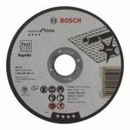 Bosch Trennscheibe gerade Expert for Inox (125mm) - 10 Stück