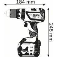 bosch gsb 18v 60 c akku schlagbohrschrauber 2 x 5ah. Black Bedroom Furniture Sets. Home Design Ideas