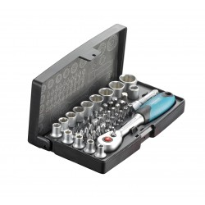 "Technocraft Steckschlüsselsatz COMPACT PRO 1/4"" 47 tlg.  Art. 11680.47.000"