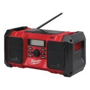 Milwaukee M18 JSRDAB+-0  Netz-/Akku-Radio (solo) - 4933451251