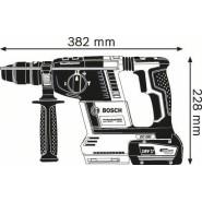 Bosch GBH 18V-26 F Akku-Bohrhammer (2 x 7Ah)