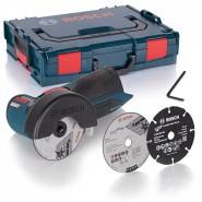 Bosch GWS 10,8-76 V-EC Akku-Winkelschleifer (solo in L-BOXX)