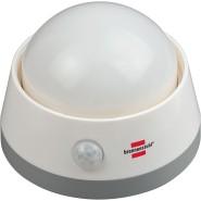 Brennenstuhl Batterie LED-Nachtlicht NLB 02 BS mit Infrarot-Bewegungsmelder und Push-Schalter - 1173290