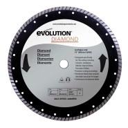 Evolution Diamanttrennscheibe Sägeblatt  355mm