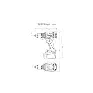 Metabo BS 18 LTX Impuls Akku-Bohrschrauber (solo) 602191840