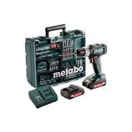 Metabo BS 18 L Set Mobile Werkstatt Akku-Bohrschrauber (2 x 2Ah) 602321870