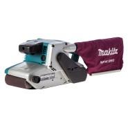 Makita 9404 Bandschleifer mit 25 Schleifbändern (K40-120)