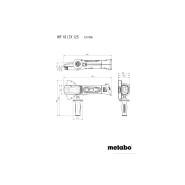 Metabo WF 18 LTX 125 Quick Akku-Flachkopf-Winkelschleifer (solo) 601306840
