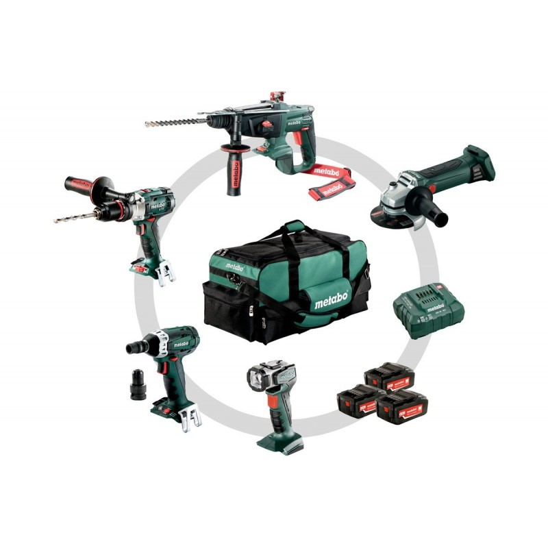 Metabo 5-teiliges 18V Akku-Combo Set 5.1 691006000