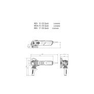 Metabo WE 17-125 Quick Winkelschleifer 600515180