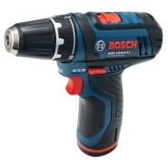 Bosch Akku-Bohrschrauber GSR 12V-15 2 x Akku 4,0 Ah + Ladegerät inkl. 39-tlg. Zubehör-Set im Softbag - 0615990HV1