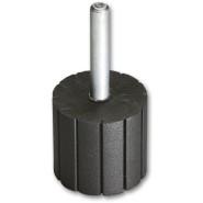 Geradeschleifer  Spiralbandträger   - 10 Stk - 25 x Durchm: 19 mm -  6 mm Schaftdurchmesser - Art.-Nr: 20.3311