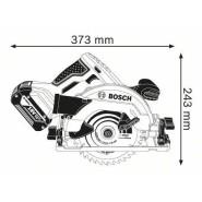 Bosch GKS 18V-57 G Akku-Handkreissäge (solo in L-BOXX)