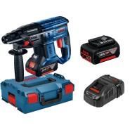 Bosch GBH 18V-20 Akku-Bohrhammer SDS-plus (2 x 5Ah Akku, in L-BOXX)