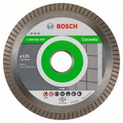 Bosch Diamanttrennscheibe Best for Ceramic Extra-Clean Turbo (125mm)