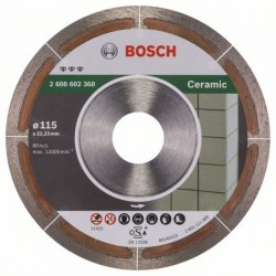 Bosch Diamanttrennscheibe Best for Ceramic Extra-Clean (115mm)