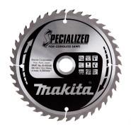 Makita Kreissägeblatt für Akku-Handkreissägen (165 x 20 mm, Z40)