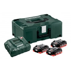 Metabo Basis-Set 3 x 4.0 Ah...