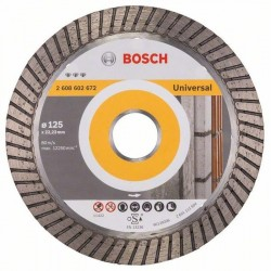 Bosch Diamanttrennscheibe Best for Universal Turbo (125mm)