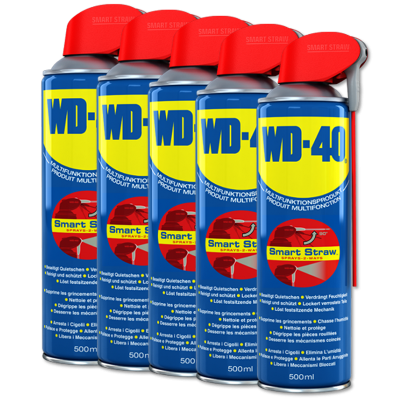 WD-40® Smart Straw 500ml (5 Dosen)