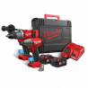 Milwaukee M18 ONEPP2B2-502X M18-Maschinen-Set 2tlg. (2 x 5Ah) - 4933464595