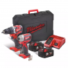 Milwaukee M18 CBLPP2B-502C M18-Maschinen-Set 2tlg. (2 x 5Ah) - 4933464718