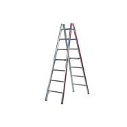 Steinemann Sprossenstehleiter, beidseitig begehbar, SC 60 465180100