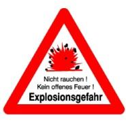 Steinemann 17.81.ED Explosionsgefahr Text: Explosionsgefahr 781041100