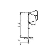 Steinemann Ständer mit Rohrrahmen für 2 Vierecksignale 790183100