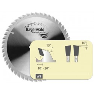 HM f/ür Aluminium oder Kunststoffprofile f/ür Handkreiss/ägen Handkreiss/äge Hartmetall /Ø 190 x 30 mm // 60 Z/ähne Kreiss/ägeblatt f/ür Aluminium oder Kunststoff