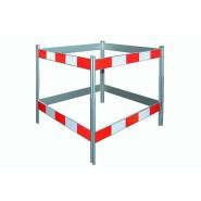 Steinemann Schachtabsperrung aus Aluminium, Folie 3M, HIP, R2 795300100
