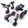 Bosch 6-teiliges Akku-Set mit GSB 18 VE-2-LI (3 x 4Ah) - 0615990L1M