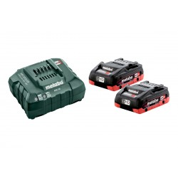 Metabo Basis-Set (2 x 4Ah)...
