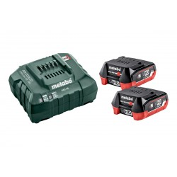 Metabo Basic-Set 12V 2 X...
