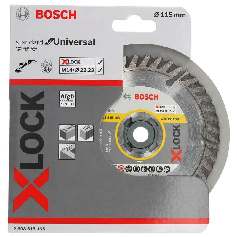 Dia-Trennscheibe BETON X-LOCK 115 mm