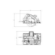 Metabo KS 55 FS Handkreissäge 600955770