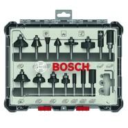 Bosch Fräser-Set 15-teil....