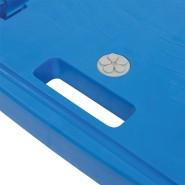 Silverline 950179 Plattformwagen mit Polypropylen-Ladefl/äche blau