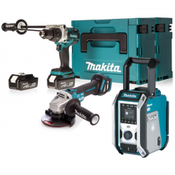 Makita 3-teiliges Akku-Set...