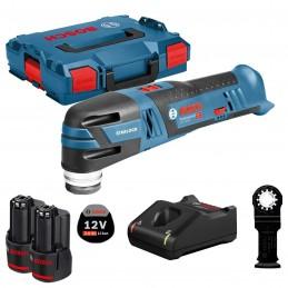 Bosch GOP 12V-28 Akku-Multi-Cutter (2 x 3,0Ah, L-BOXX)