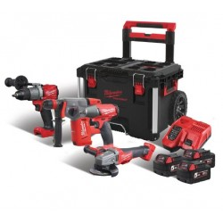 Milwaukee M18 FPP4A-503P (3...